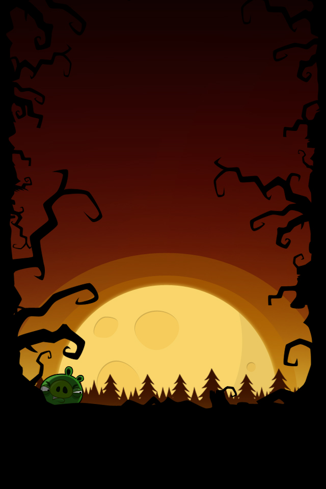 Angry Birds Halloween iPhone Desktop Backgrounds AngryBirdsNest 640x960