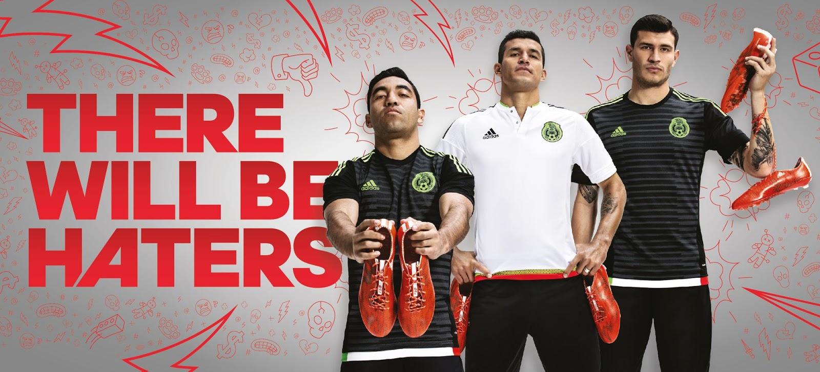 Mexico 2015 Copa America Kits Released   Footy Headlines 1600x727