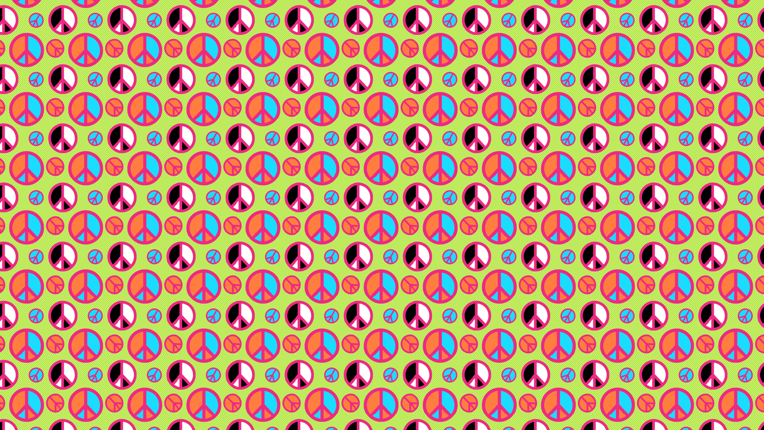 httpwwwsnazzyspacecomdesktop wallpaper000000 lime peace signs 2560x1440