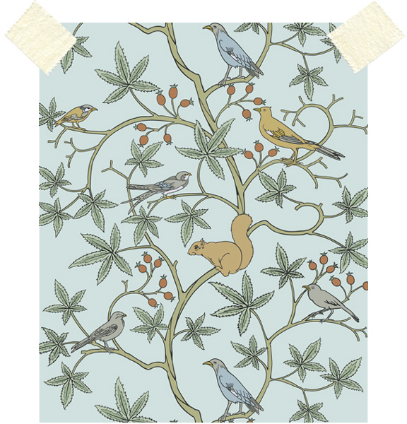 field guide 35 CFA VOYSEY WALLPAPER 576x600