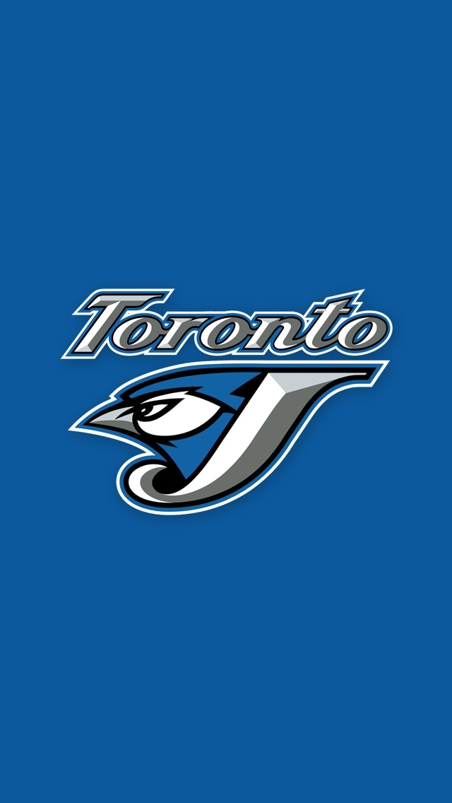 blue jays iphone wallpaper tags baseball blue jays logo toronto 640x1136