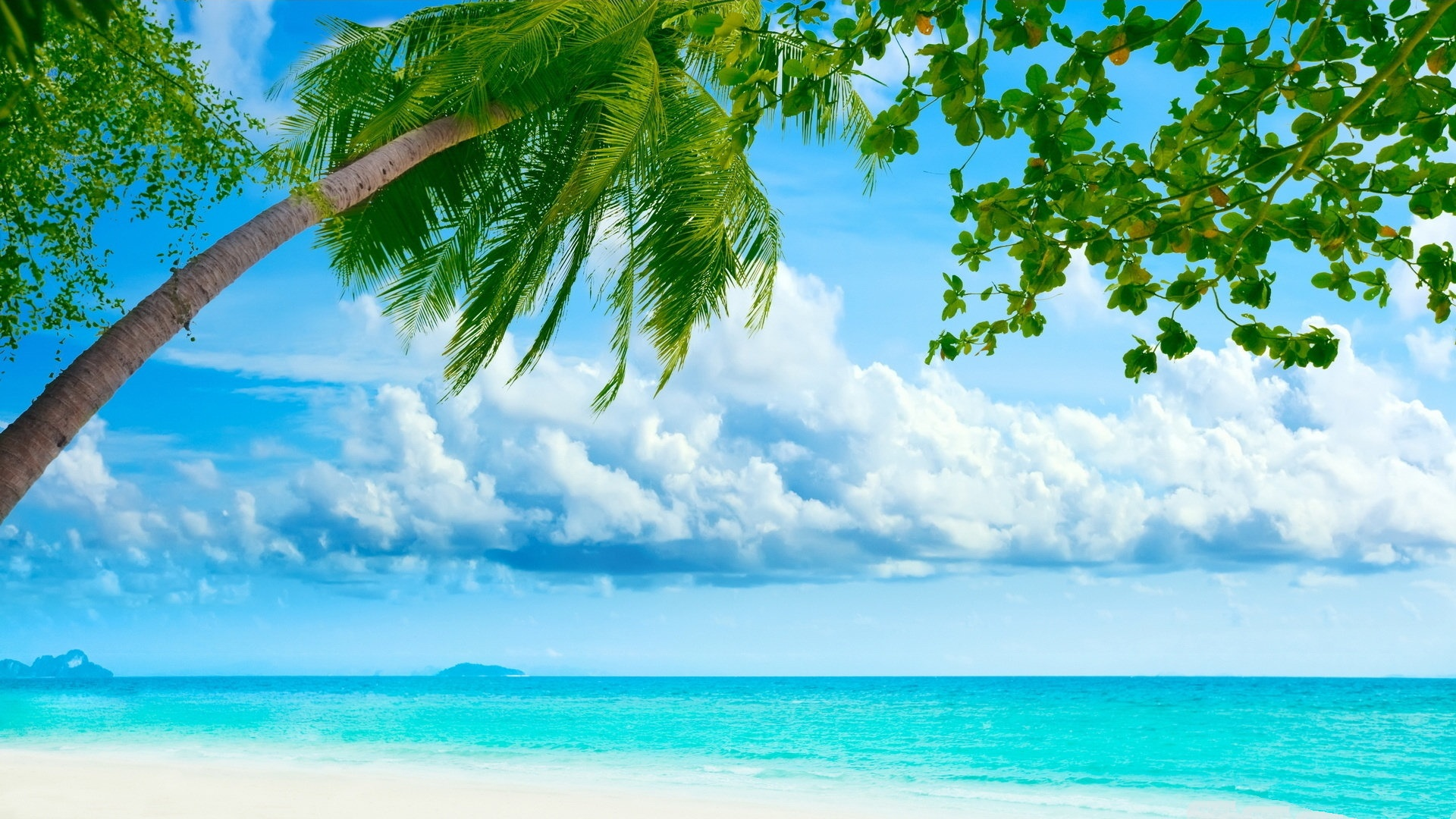 Tropical Island Desktop Wallpaper   1920x1080 1920x1080