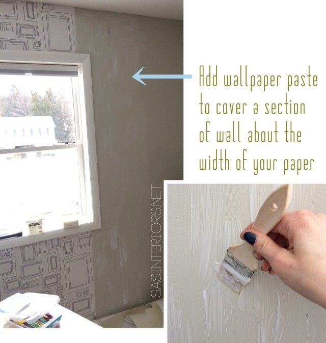 Tutorial Tips Tricks for hanging wallpaper Do It Yourself but get 640x673
