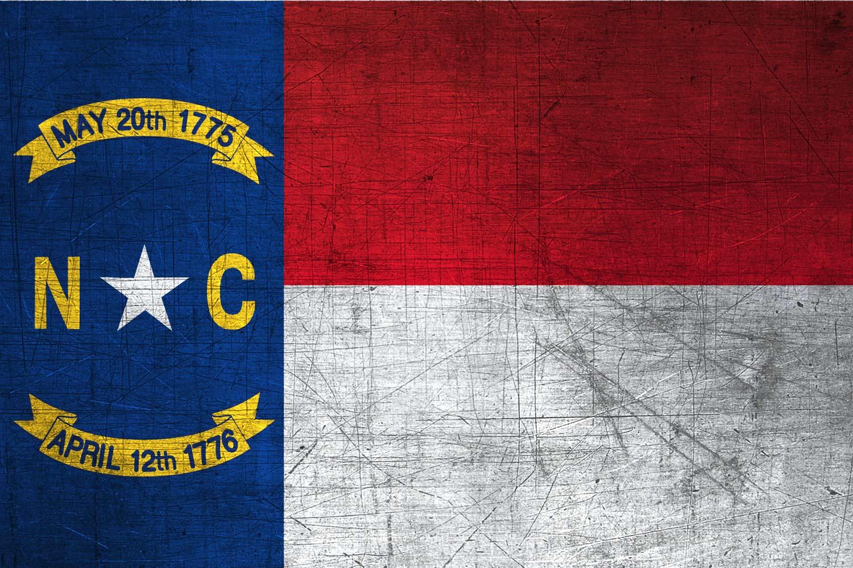 North Carolinian Flag Metal Flag of North Carolina   Download it 1500x1000