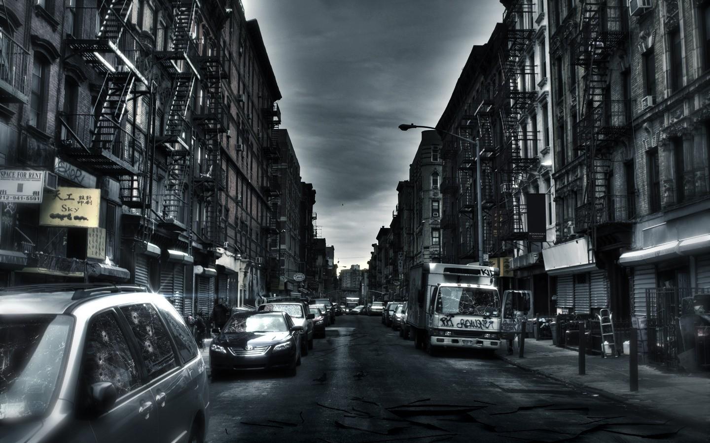 Dark City Wallpaper 1440x900 Dark City Hardscapes 1440x900