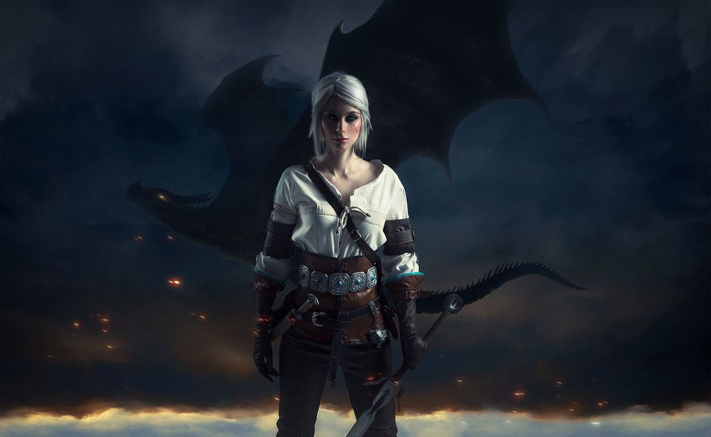 The witcher 3 wild hunt cosplay model ciri wallpaper The 1024x630