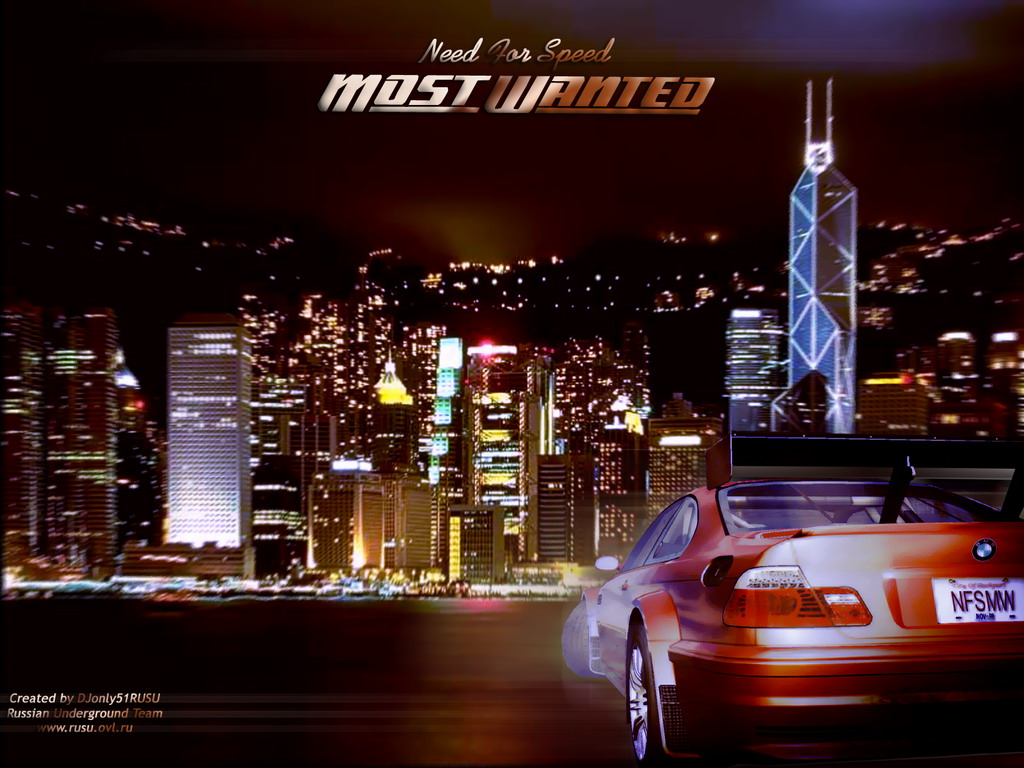 SCREEN WALPAPER Need for speed most wanted wallpaper hd 1024x768