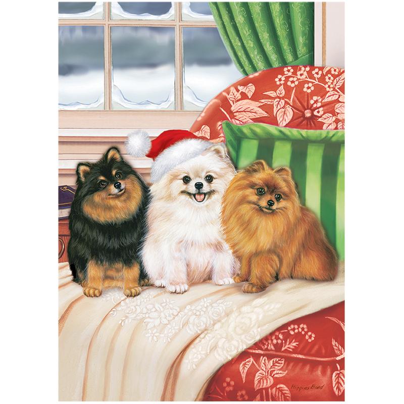 39 Christmas Pomeranian Wallpaper On Wallpapersafari
