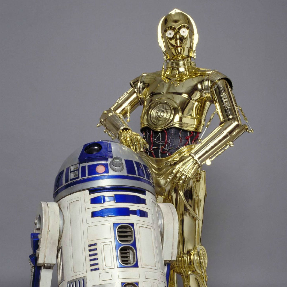 R2d2 And C3po Wallpaper C3PO and R2D2 Wallpape...