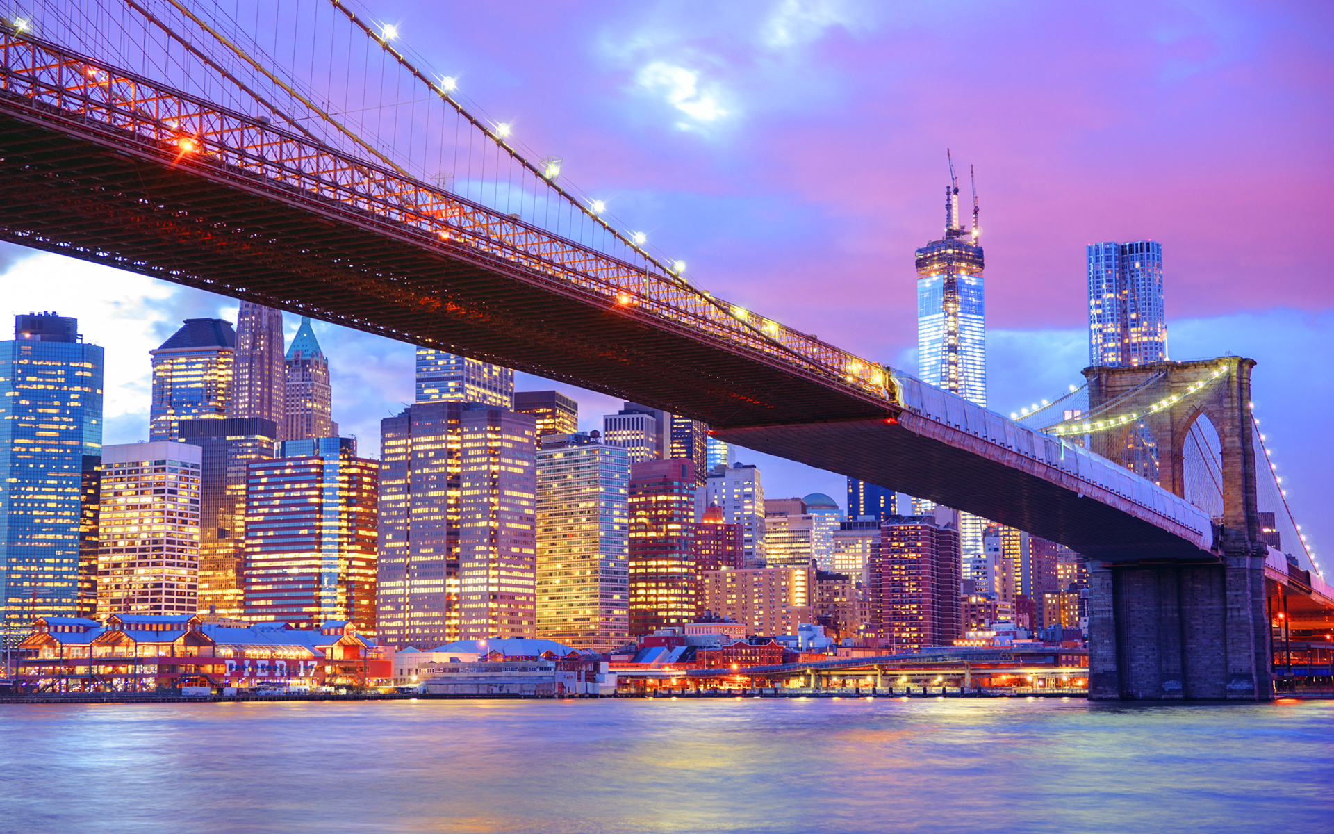 New york full hd wallpaper city brooklyn bridge wallpaper ...