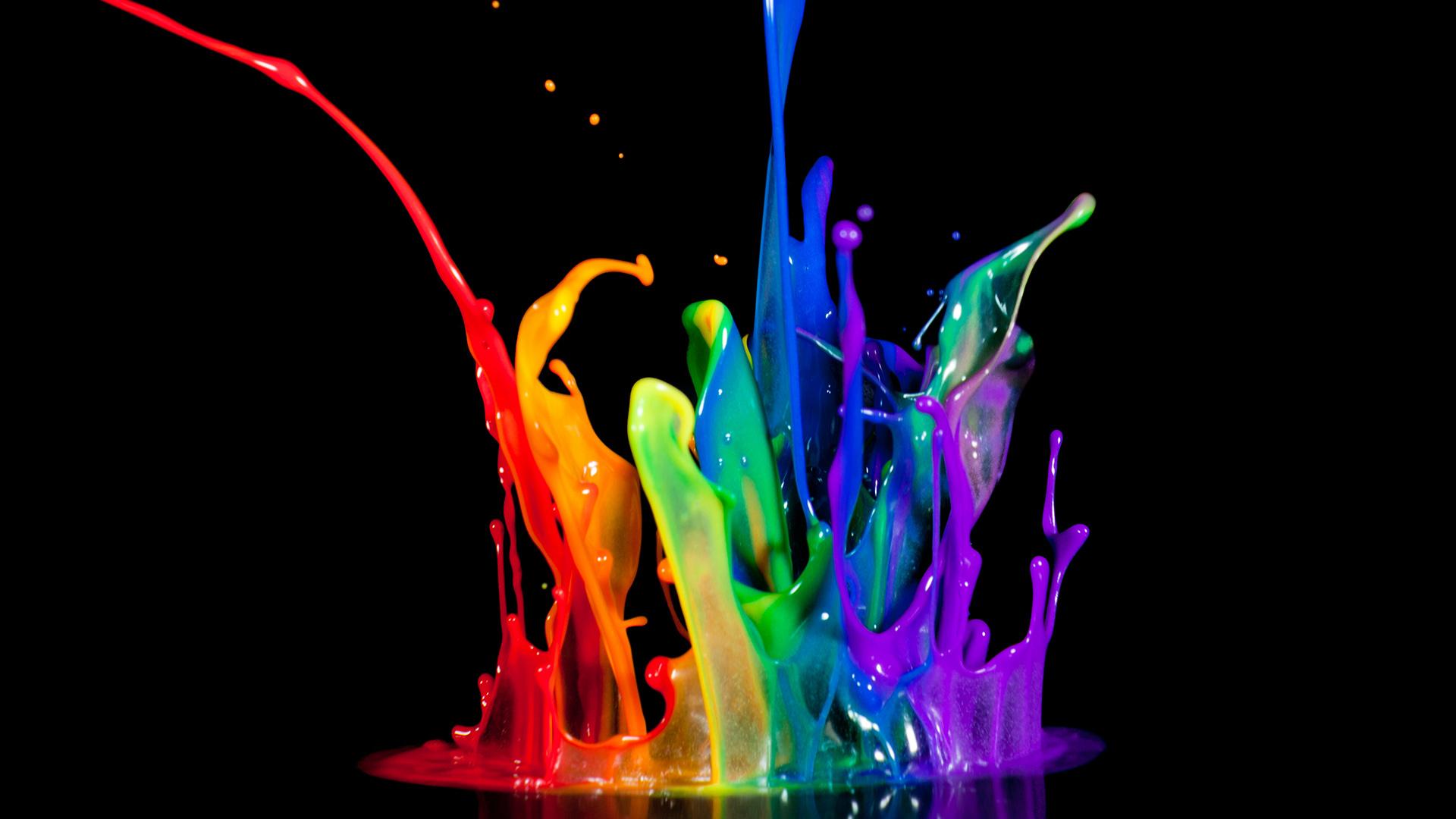 colorful paint splatters pngpaint splash artistic hd wallpapers 1920x1080