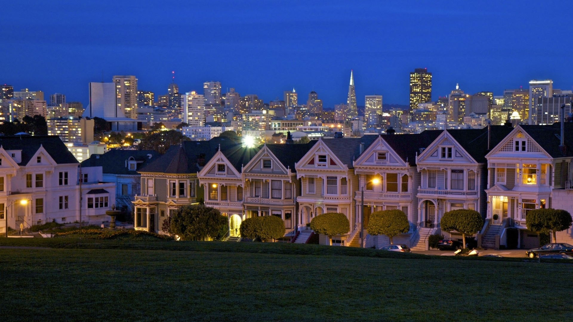 1920x1080 Building House San francisco California Usa Wallpaper 1920x1080