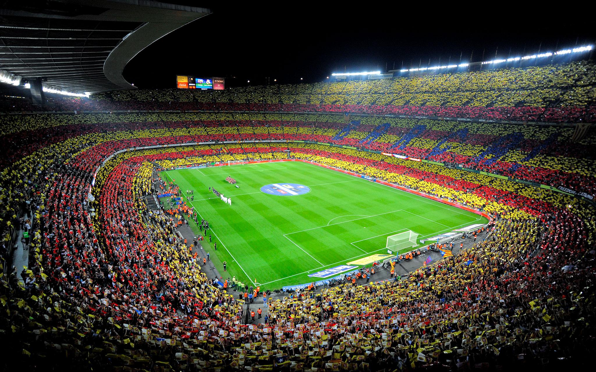 Estadio del FC Barcelona   Camp Nou   Taringa 2048x1280