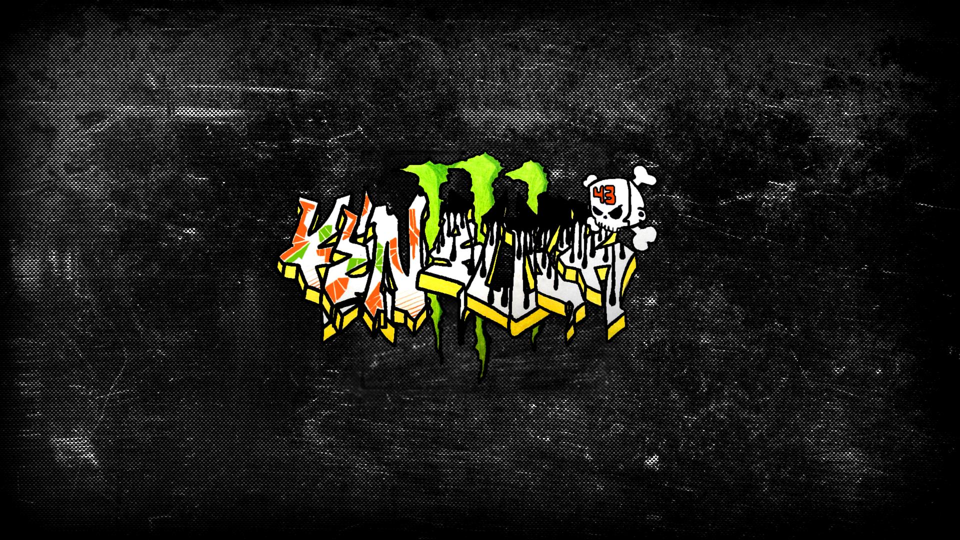 Ken Block Graffiti by NNton 1920x1080