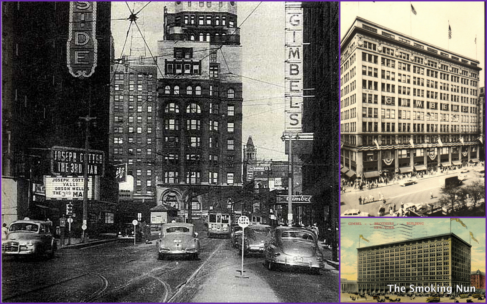 NYC Vintage NYC Vintage Image Of The Day Gimbels Department Store 1600x1000