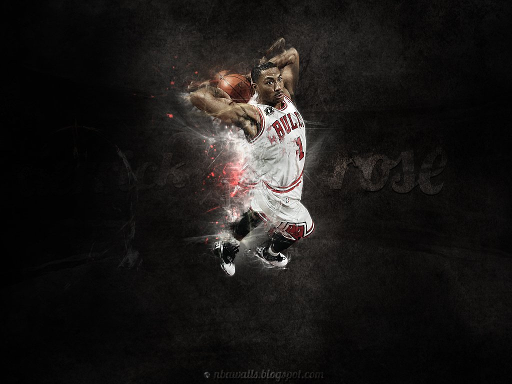 pixel wallpaper try this link Derrick Rose wallpaper 1024x768 1024x768