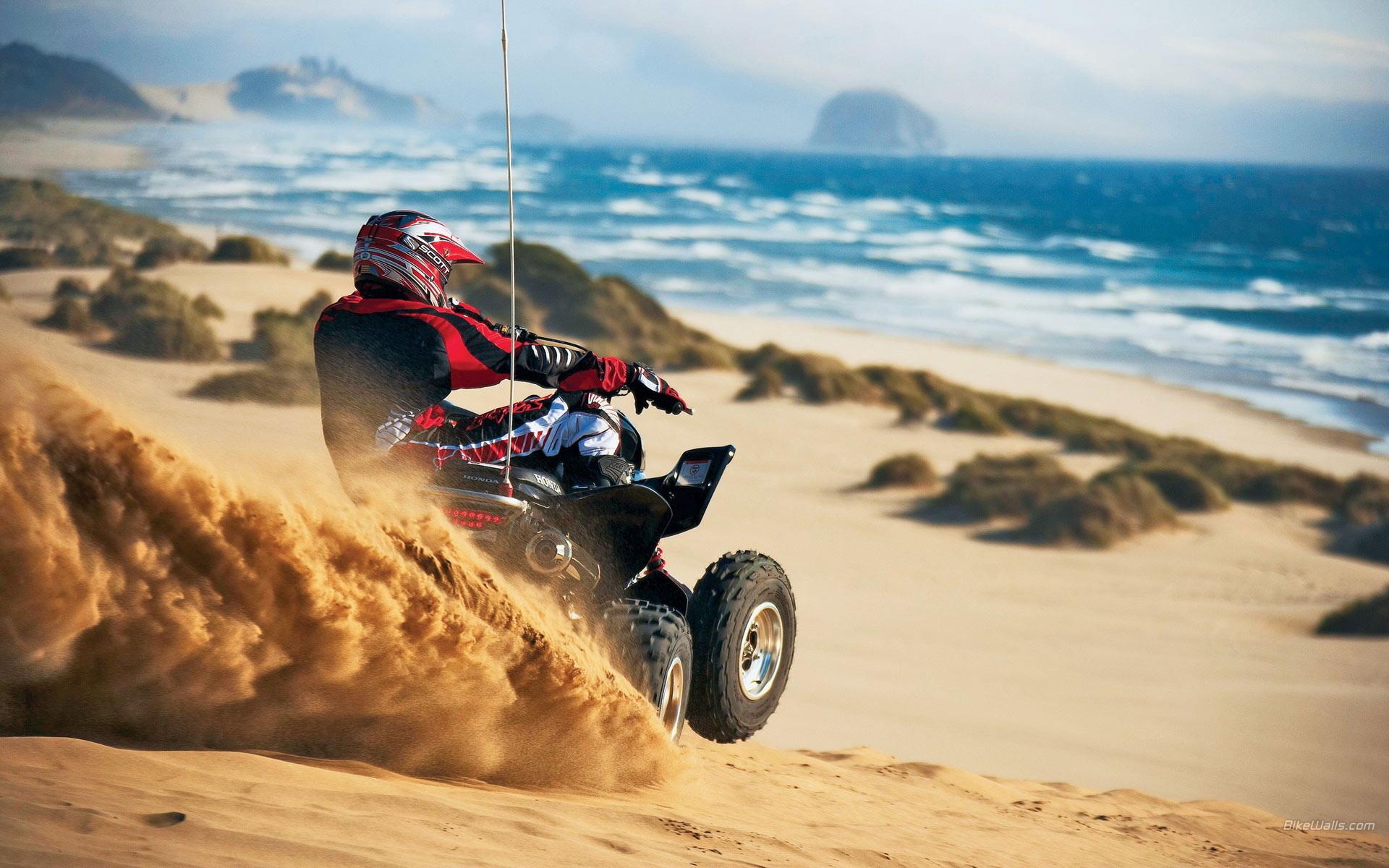 мотоцикл песок дорога дом  № 954710 бесплатно