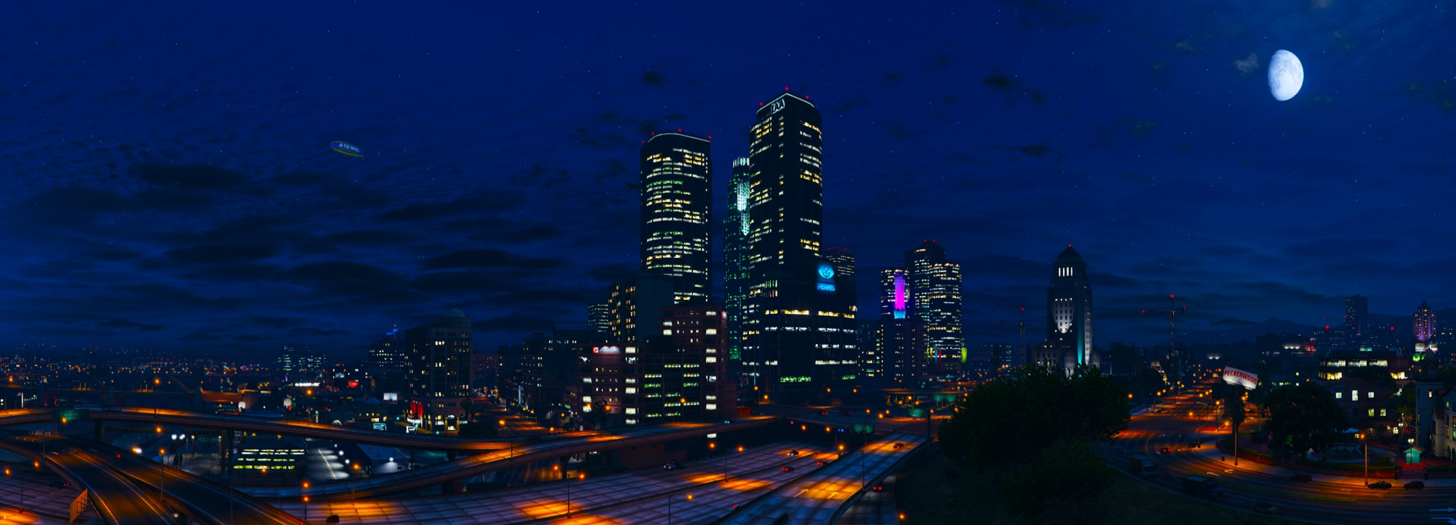 17 Los Santos HD Wallpapers Background Images 2841x1024