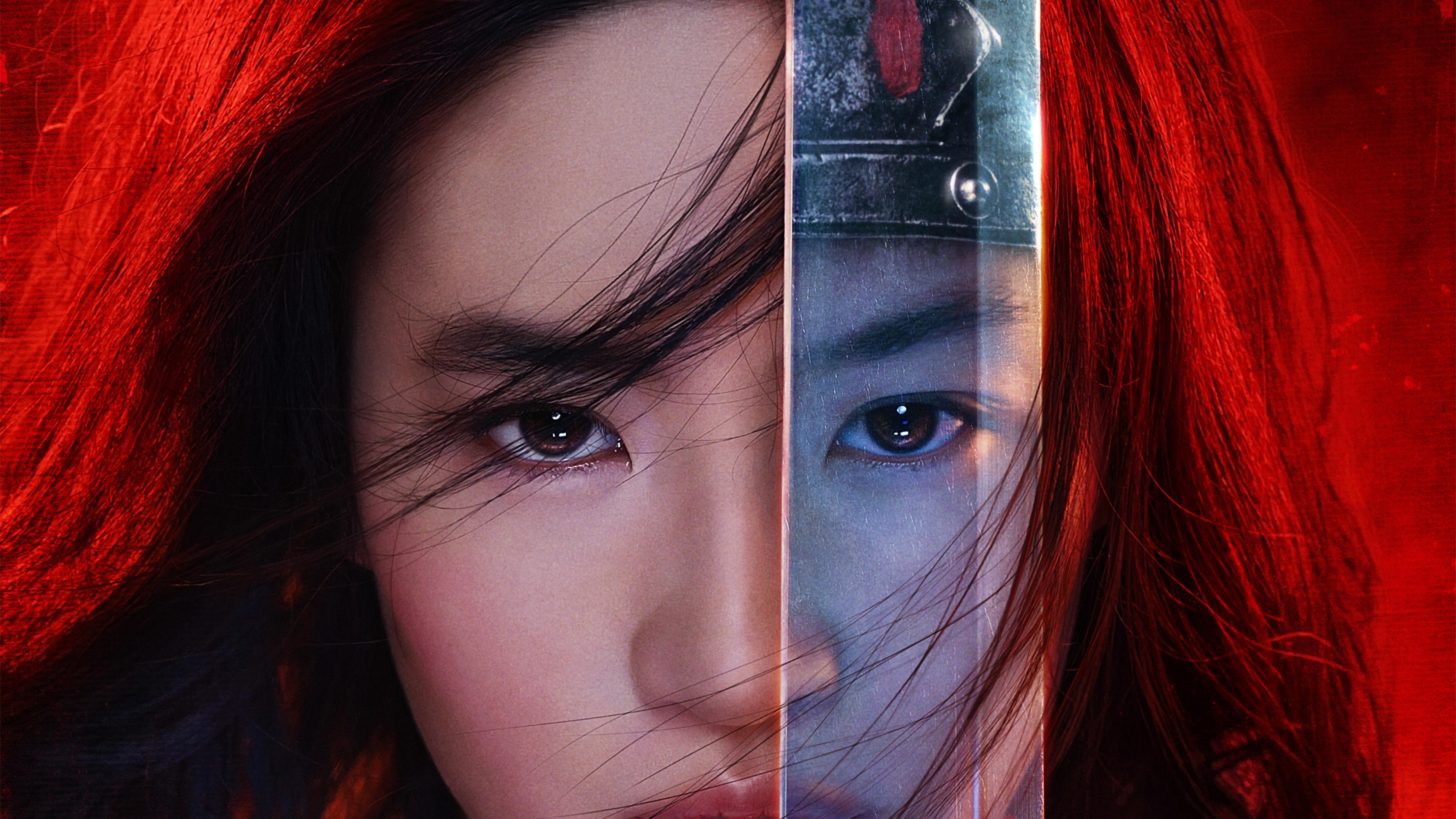 5120x2880 Mulan 2020 Movie Poster 5K Wallpaper HD Movies 4K 5120x2880