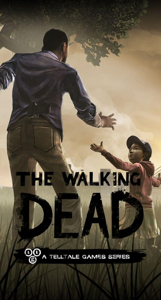 The Walking Dead phone wallpaper I made for Telltales The Walking 639x1186