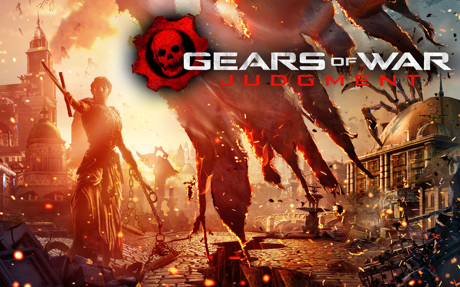 Gears of War Judgment Wallpaper 1920x1200