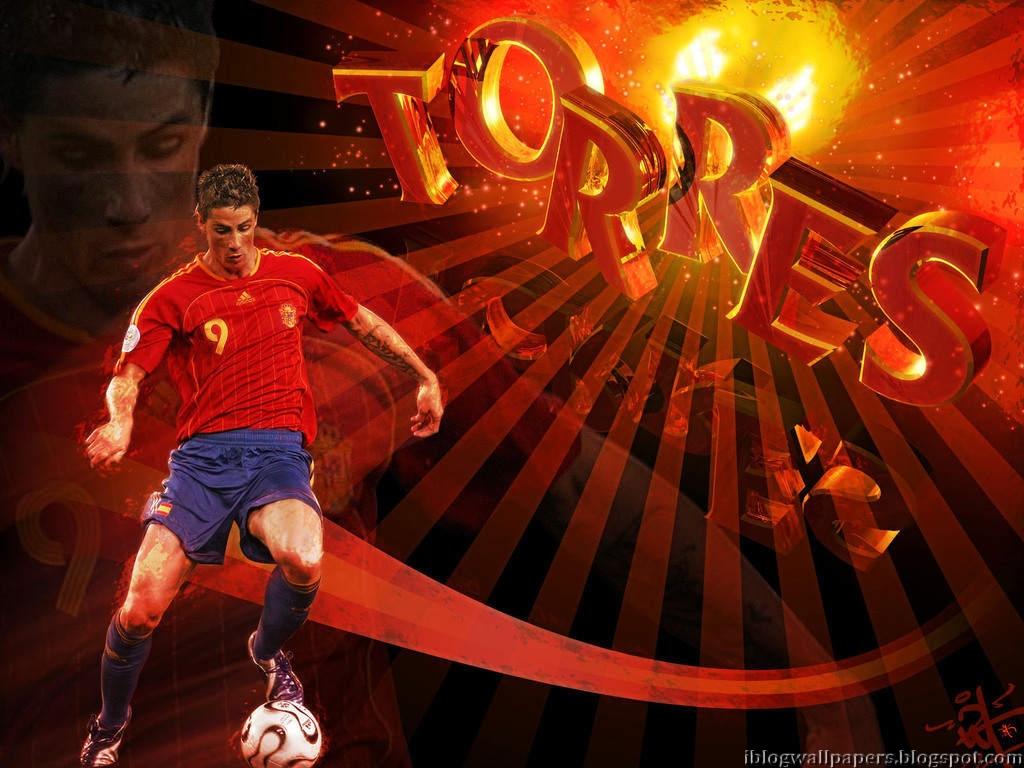 Fernando Torres Spain Wallpaper HD Download Wallpaper 1024x768