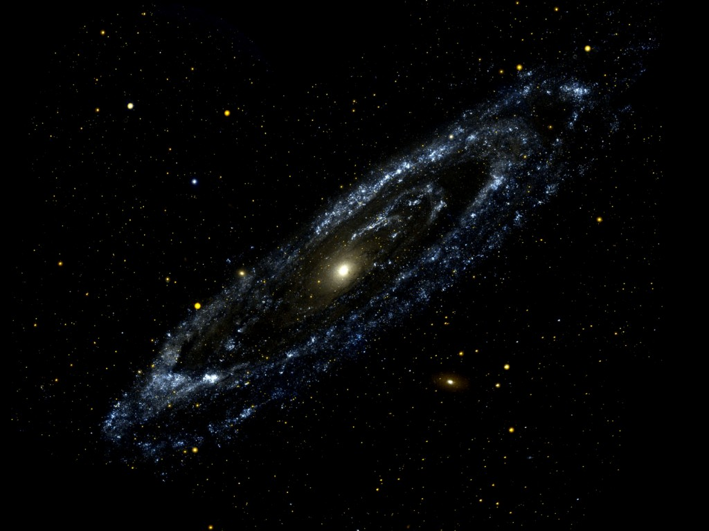 Andromeda Galaxy Andromeda Galaxy Antennae Galaxies Asteroid Ida 1024x768