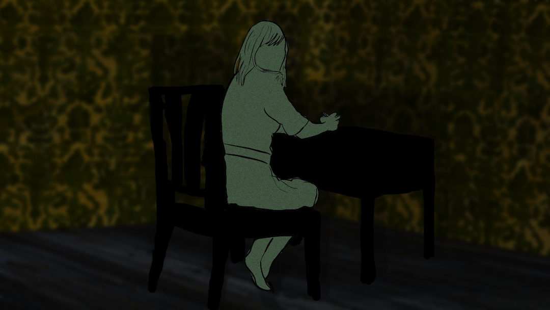 the yellow wallpaper is an animated short based on the feminist short 1080x608