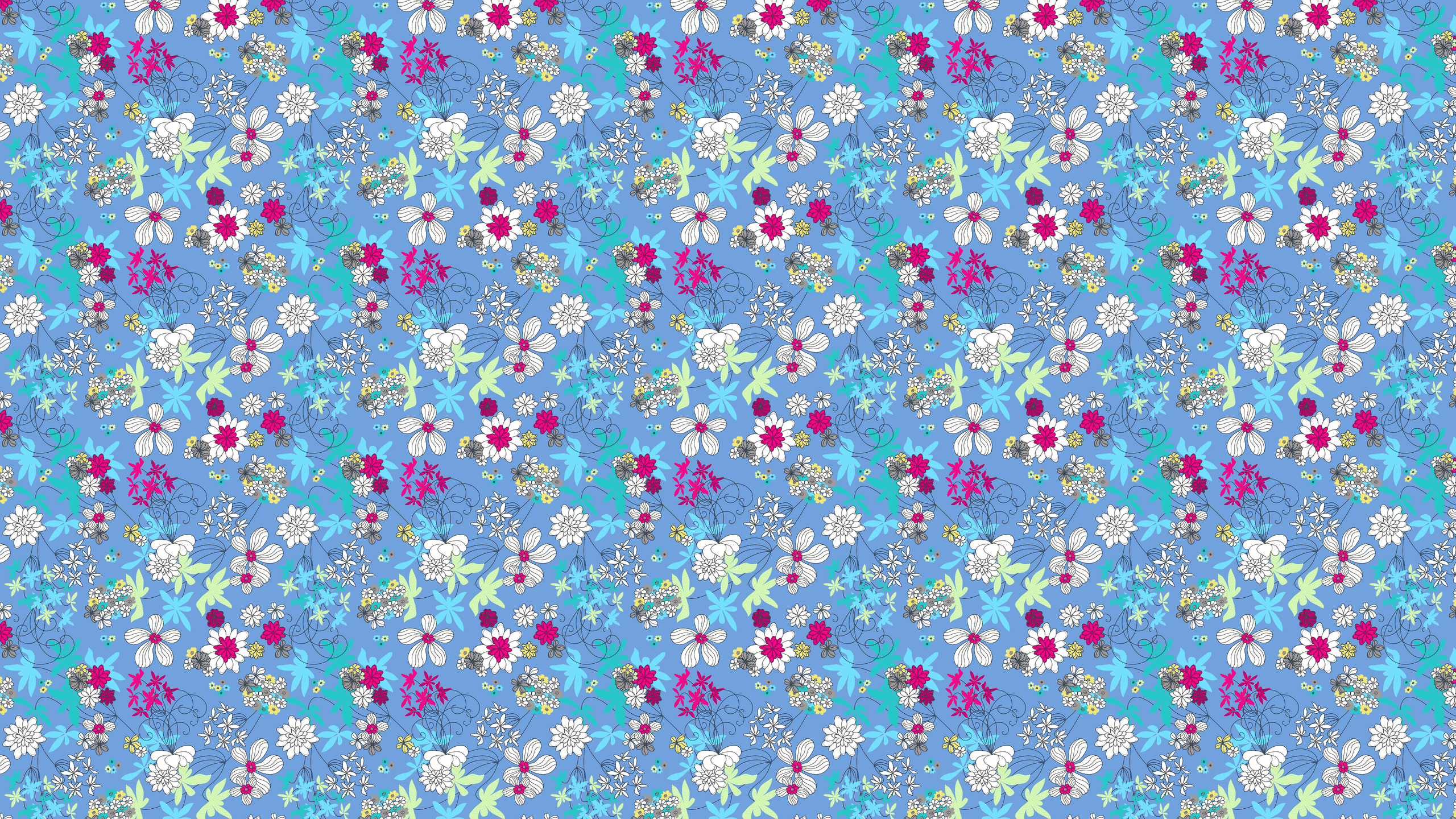 this Cute Flowers Desktop Wallpaper is easy Just save the wallpaper 2560x1440