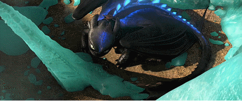 Toothless The New Alpha [GIF] by Grzeboable 500x210