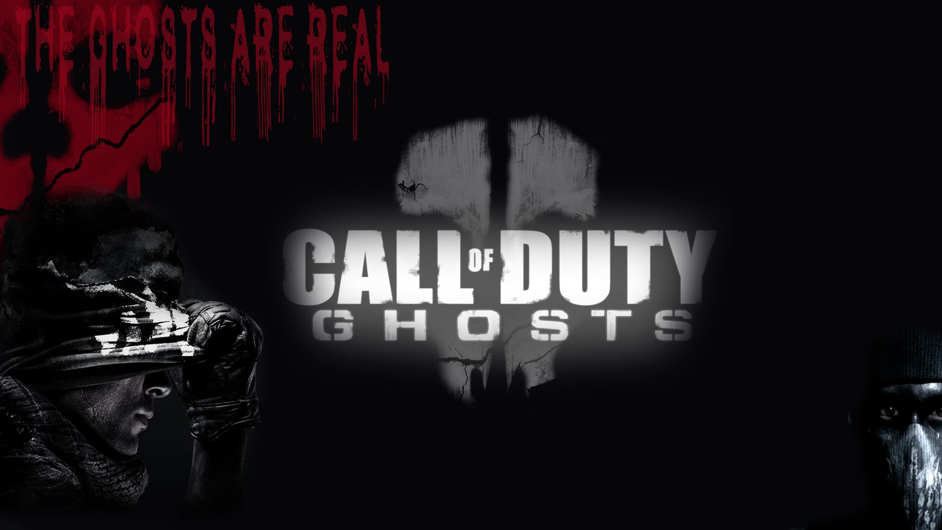 Free Download Speedart Cod Ghosts Youtube Wallpaper 3000x1688 Full