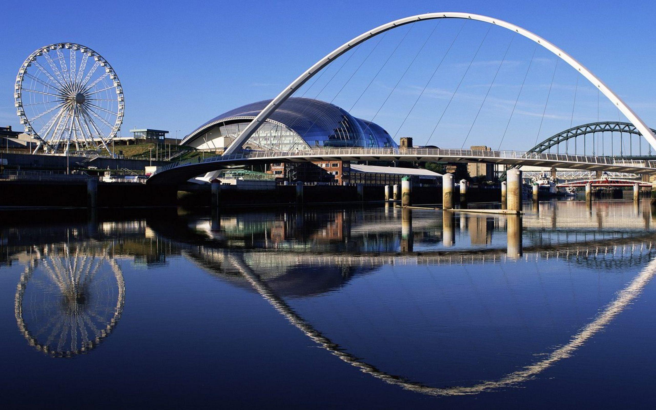Millennium Bridge Widescreen England Wallpapers HD Wallpapers 2560x1600