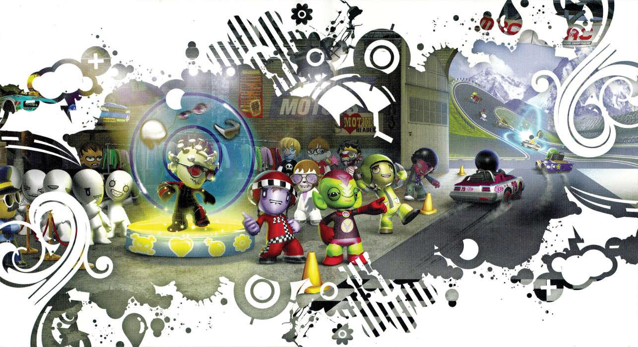 Download mobile wallpaper Cartoon Art 13585 1286x700
