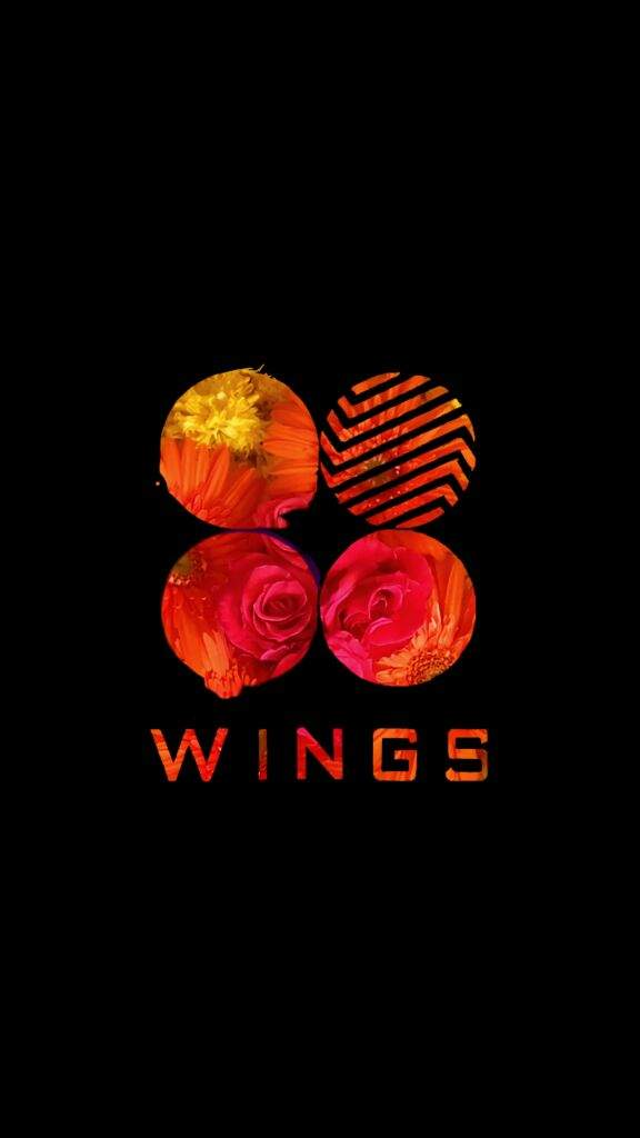Homemade Wings logo and BTS old logo wallpaper ARMYs Amino 576x1024