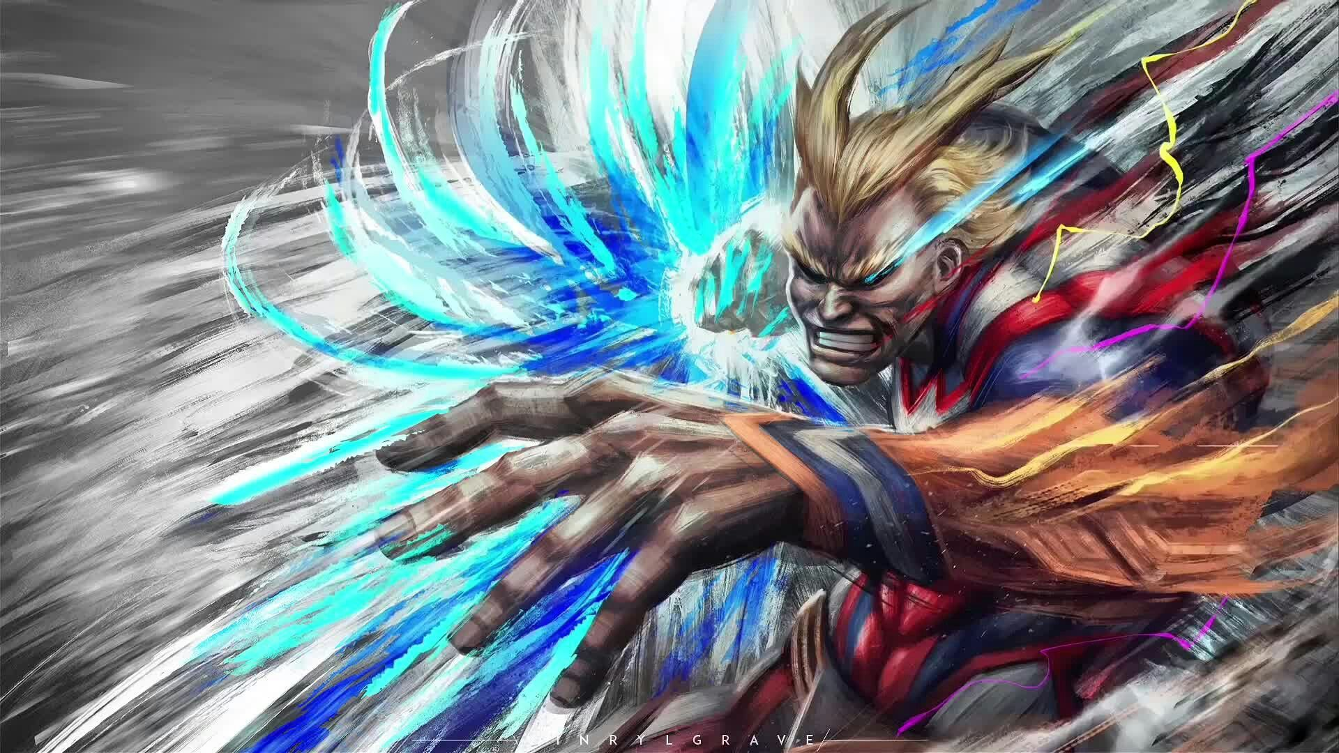 All Might My Hero Academia Wallpapers   Top All Might My Hero 1920x1080