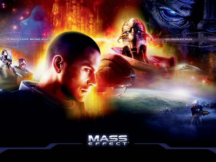Mass Effect wallpaper Awesome Video Game Wallpapers Pinterest 736x552