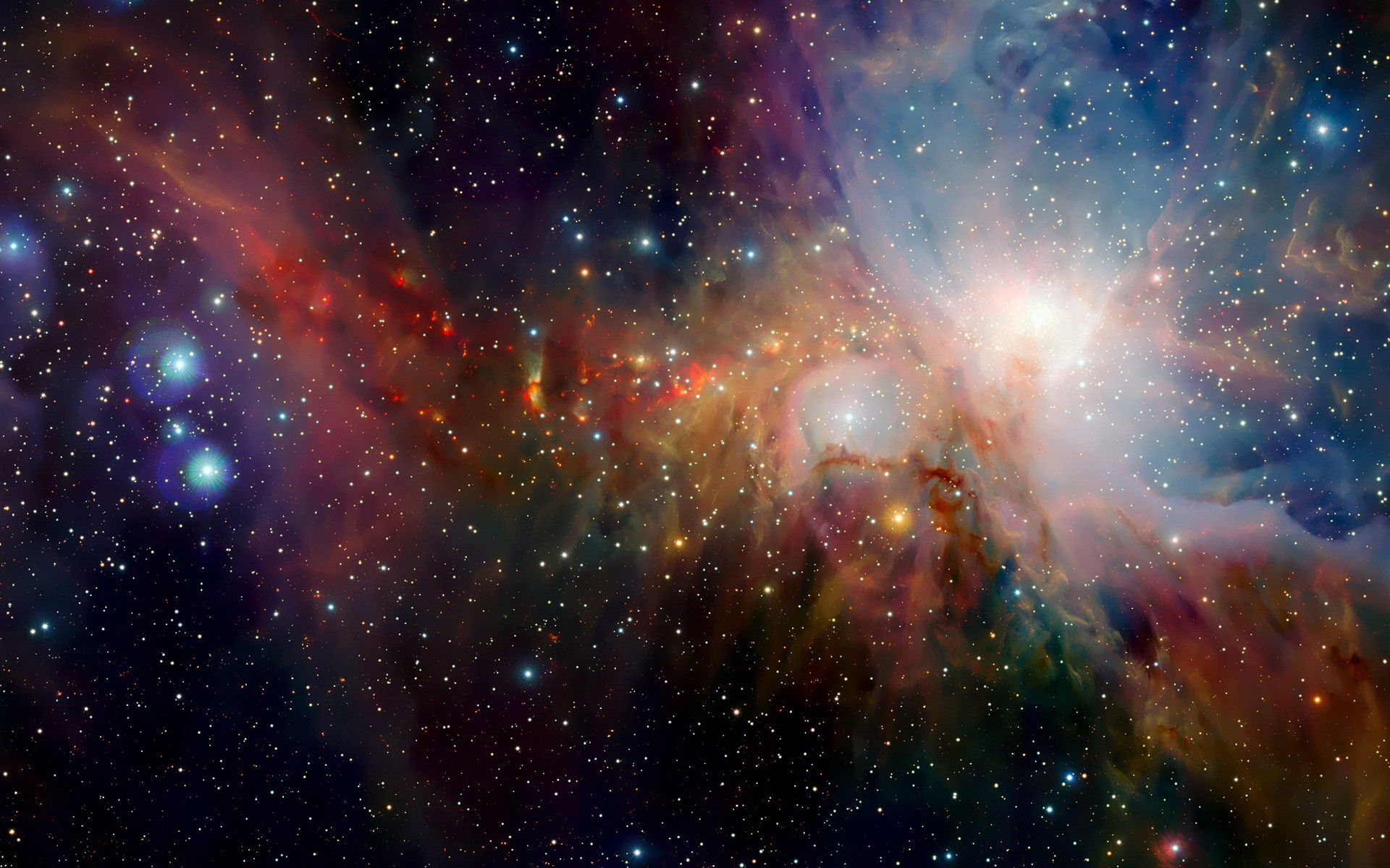 Ios 7 outer space stars wallpaper wallpapers and images 1920x1200