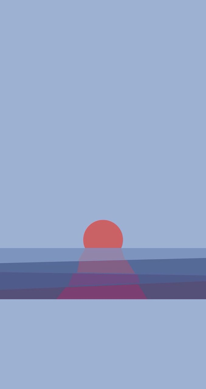 Sunset Find more Minimalistic iPhone Android Wallpapers 678x1280