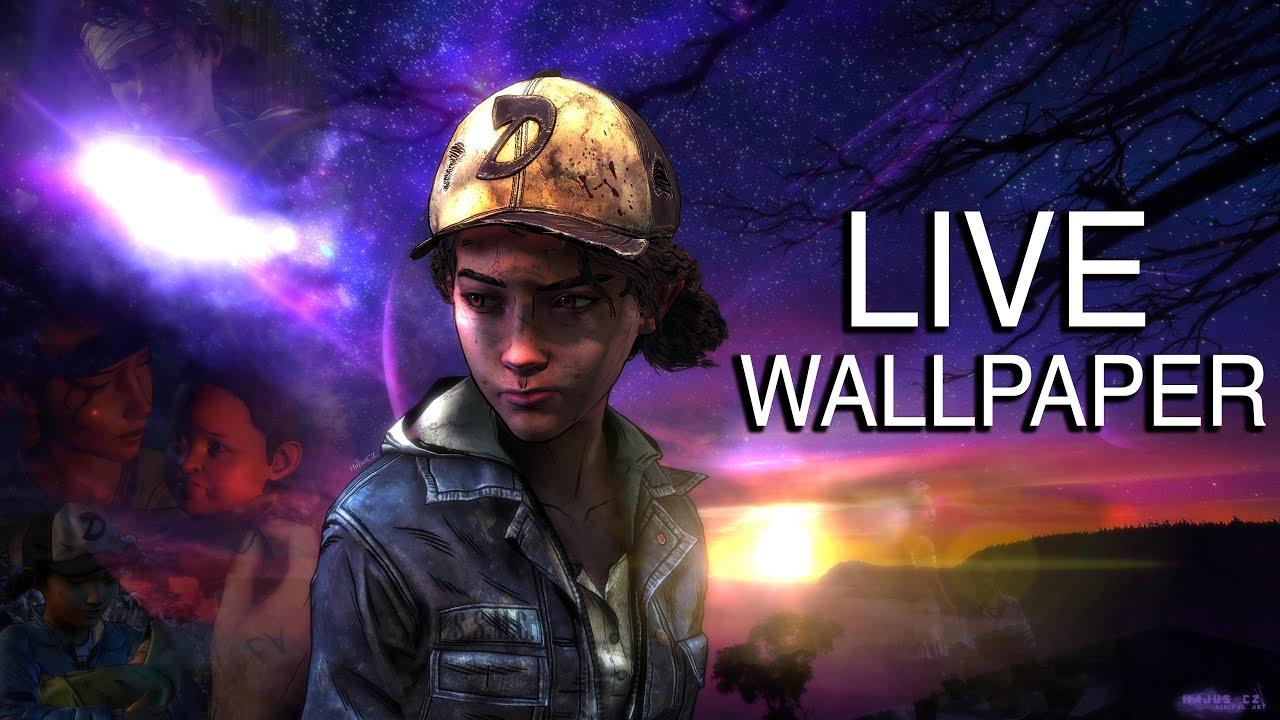 The Walking Dead   Clementine Live Desktop Wallpaper Wallpaper 1280x720