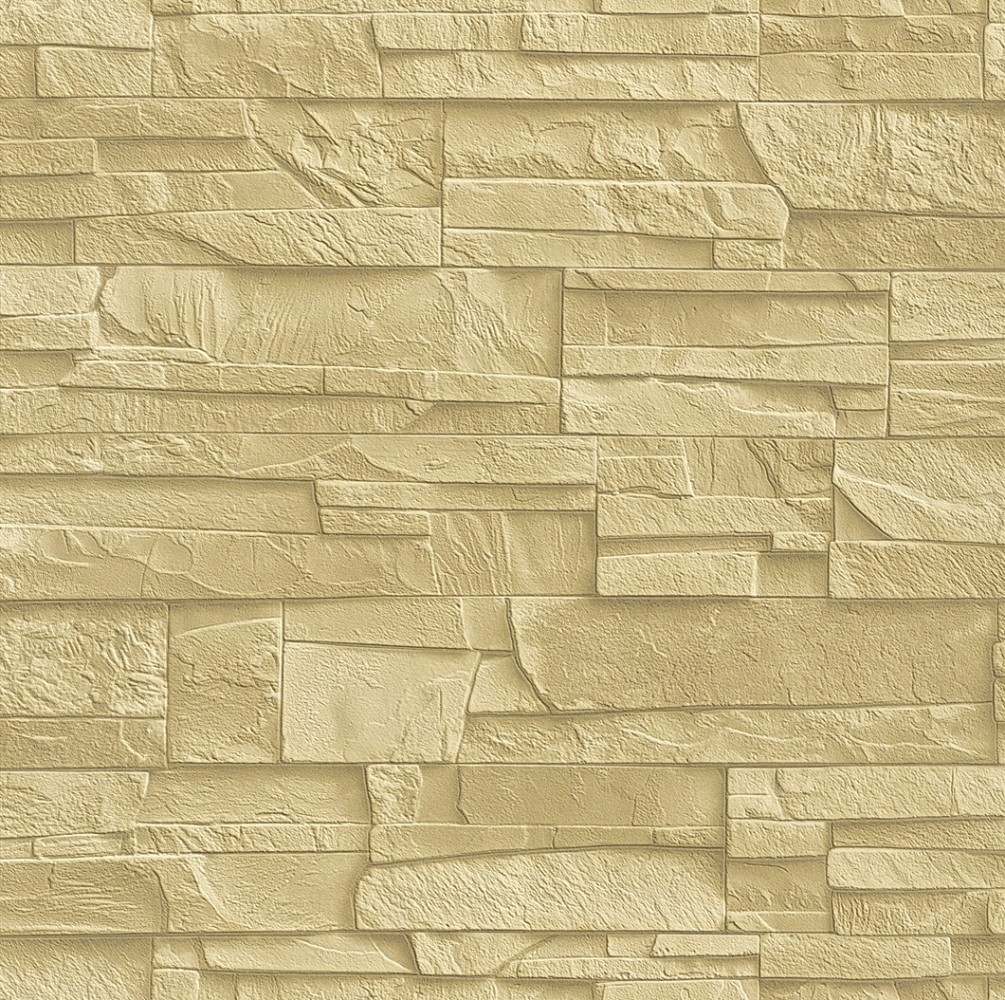 wallpaper 438338 stone look 3D beige cream Wallpaper Rasch Factory 1005x1000