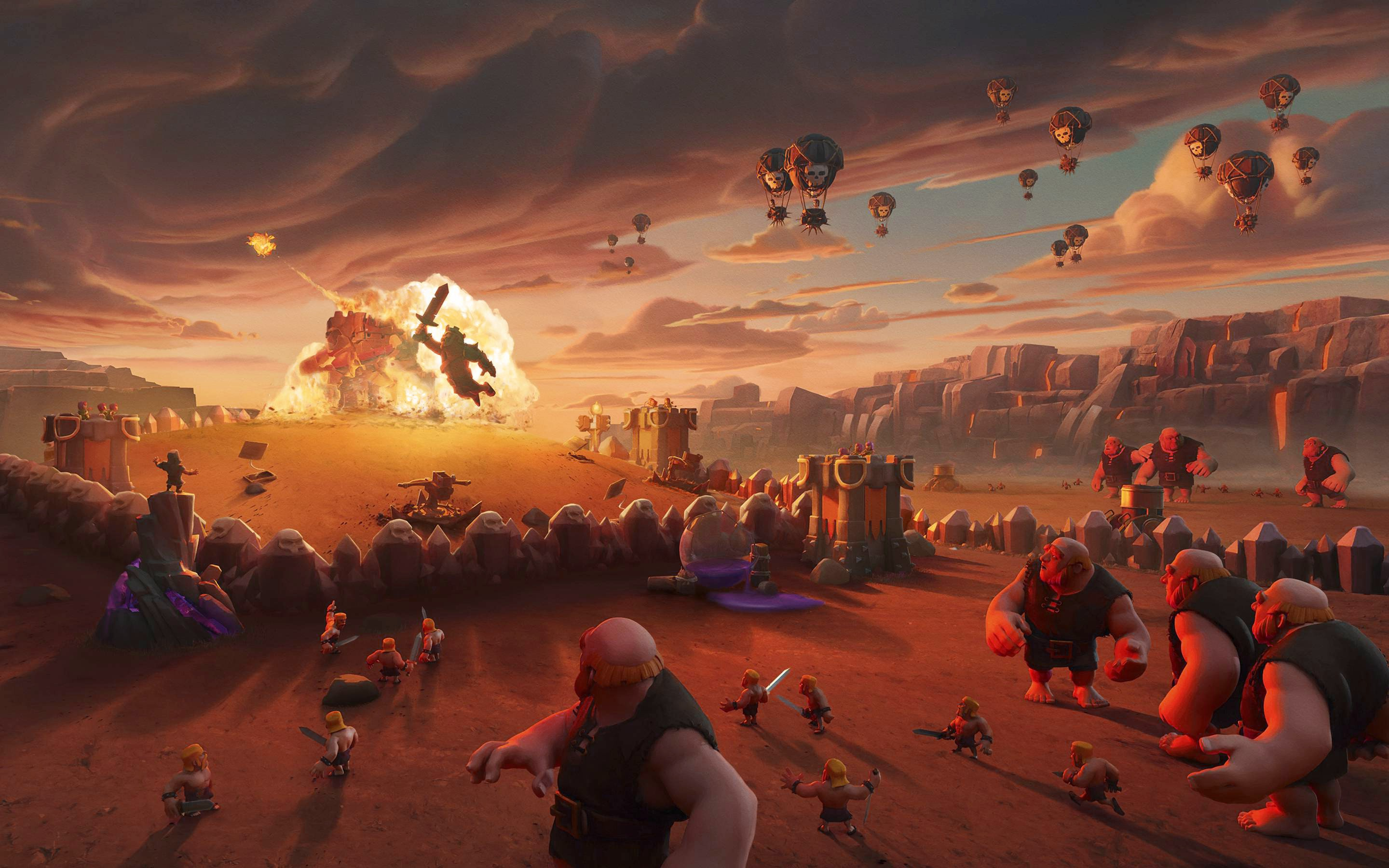 Clash of Clans 2017   New HD Wallpapers 2880x1800
