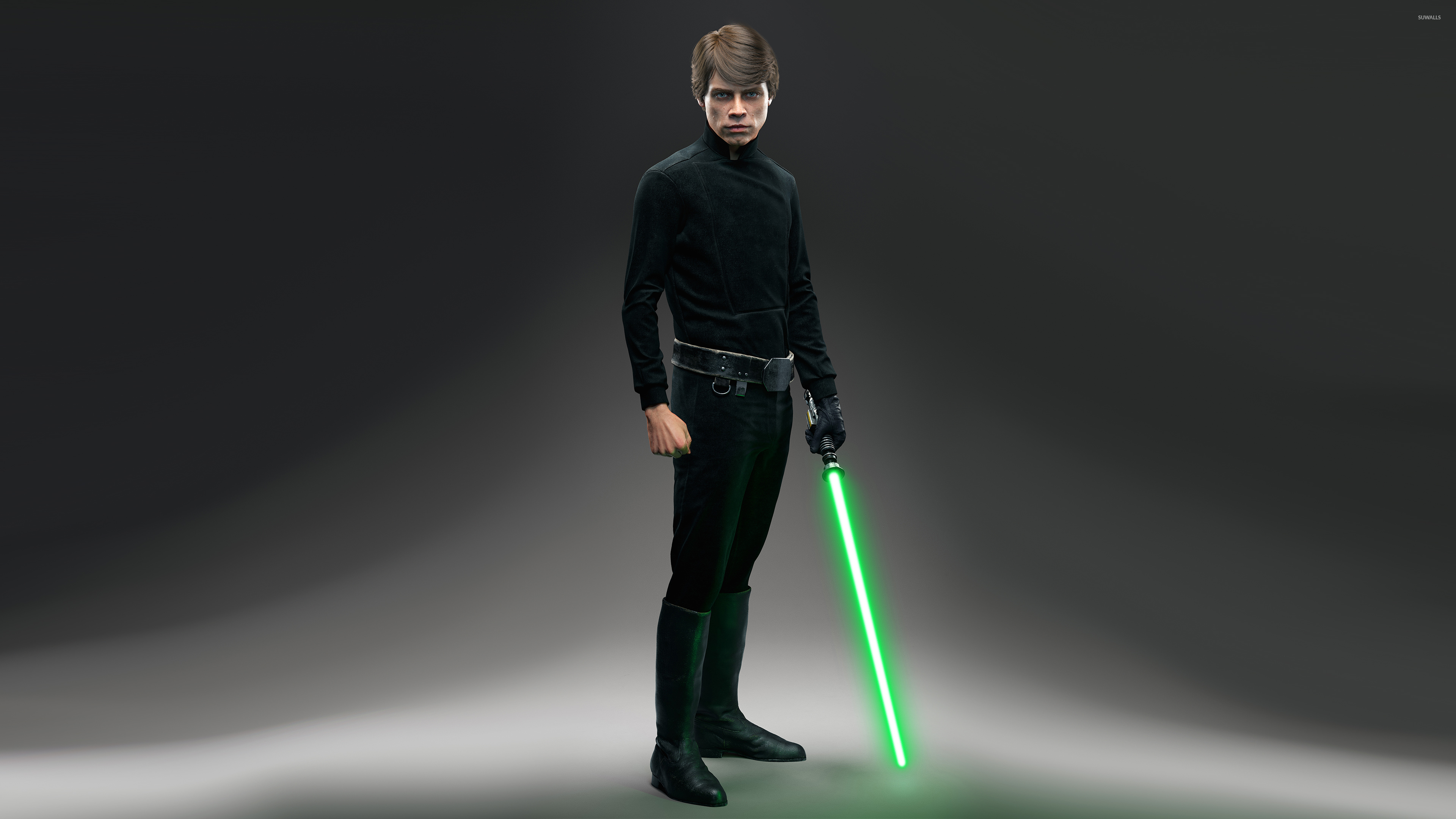 Luke Skywalker   Star Wars Battlefront wallpaper   Game 3840x2160