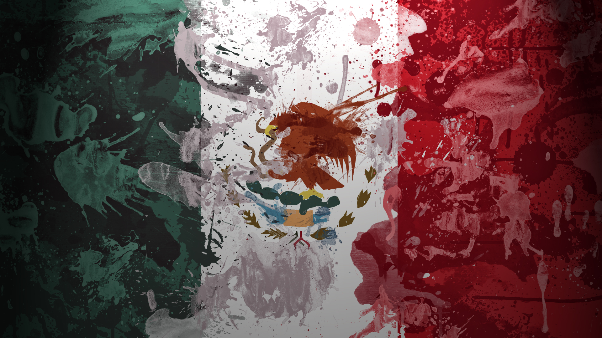 Flag art mexico wallpaper High Quality WallpapersWallpaper Desktop 1920x1080