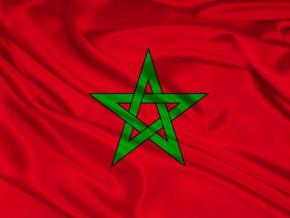 Wallpaper du drapeau du Maroc   Wallpaper gratuit 580x435