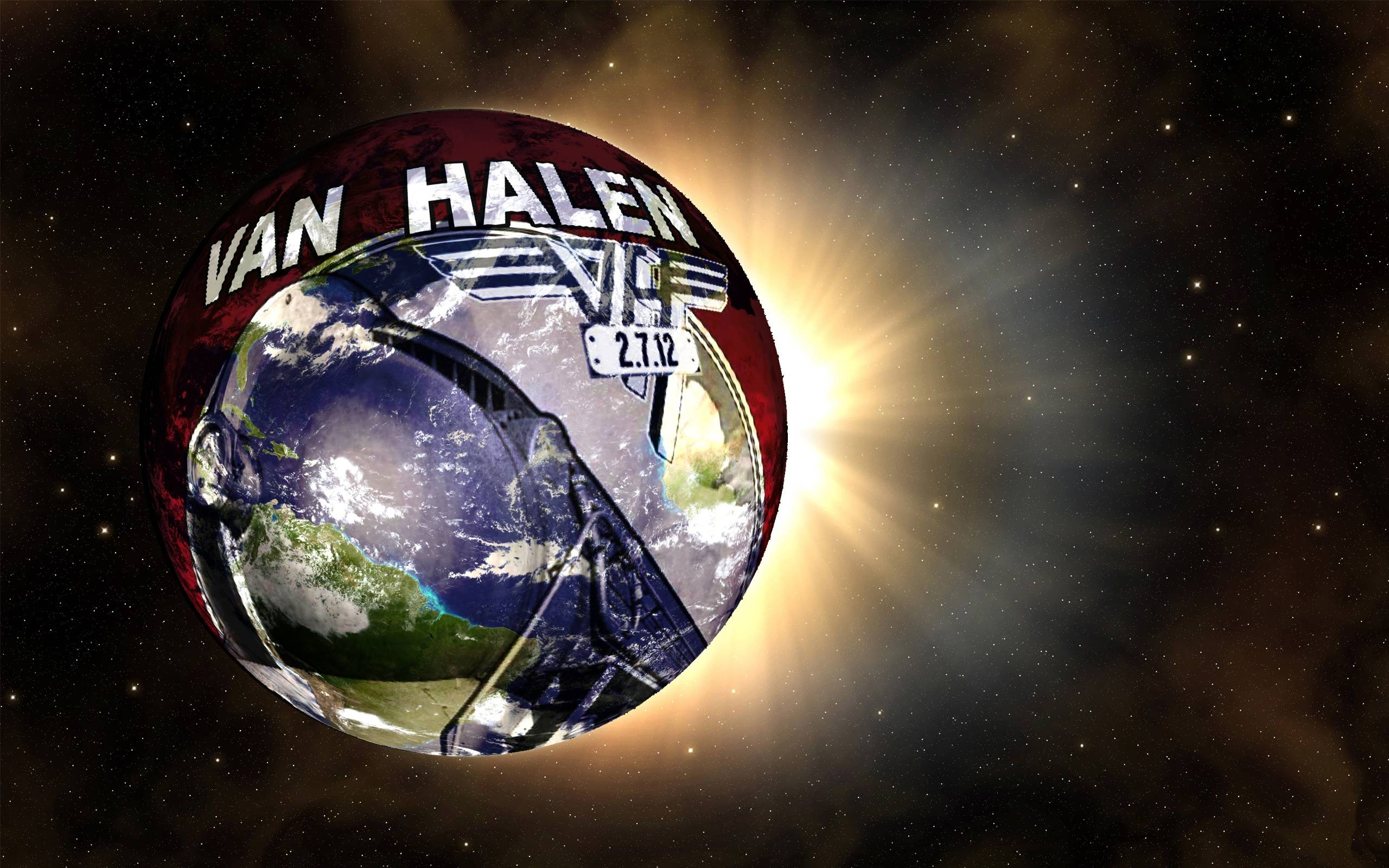 Pics Photos   Download Van Halen Background Desktopwallpaper 2560x1600