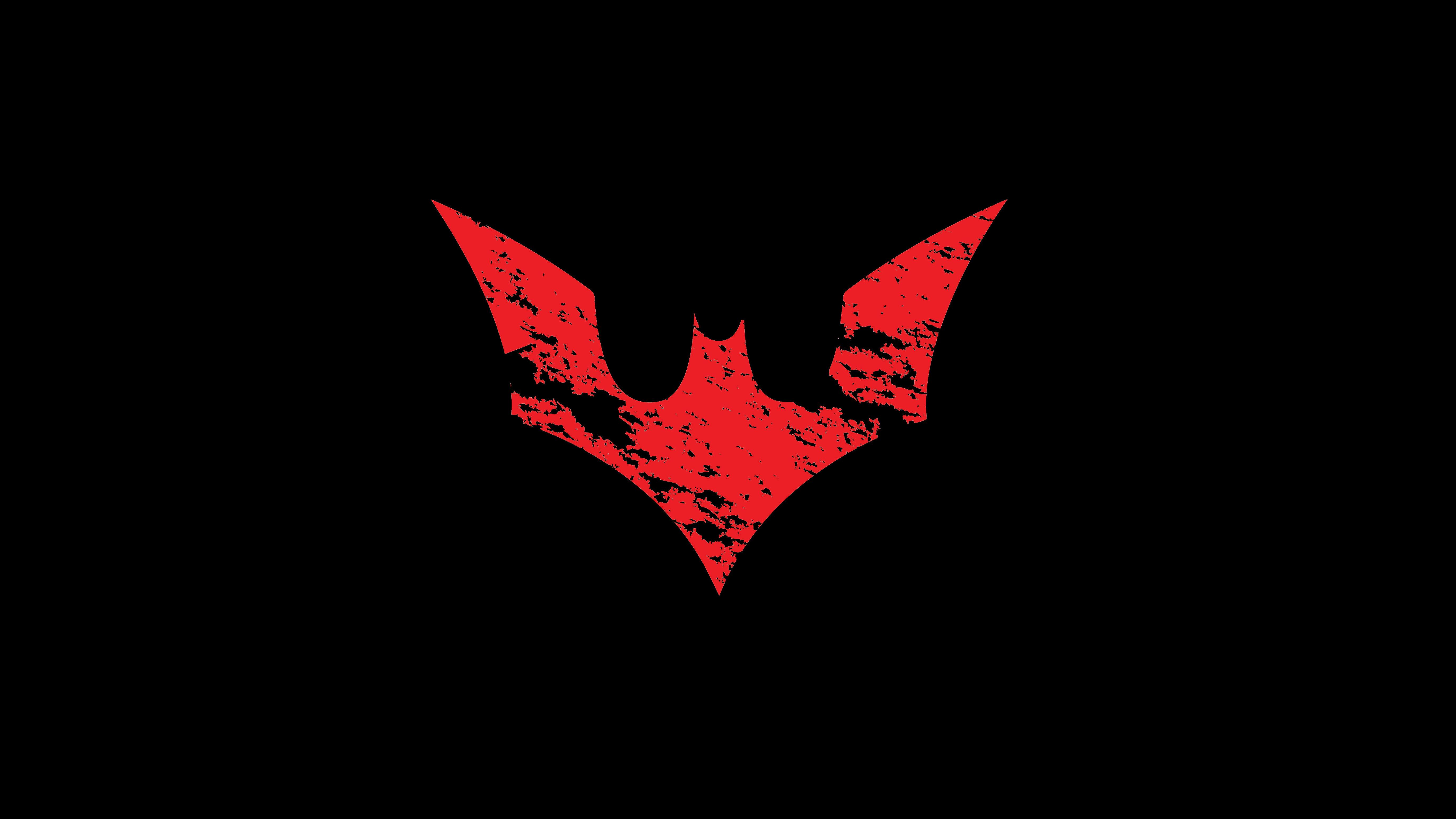 4K Batman Wallpaper - WallpaperSafari  Batman Beyond Logo Wallpaper Hd