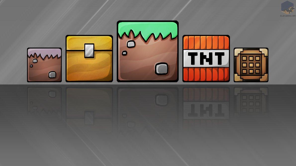 Minecraft Blocks Wallpaper by ChrisL21 1191x670