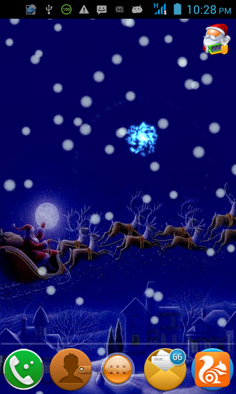 Download Christmas Sound Live Wallpaper for android Christmas Sound 480x800