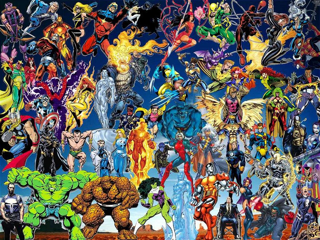 Marvel Comics Wallpapers, 4K Ultra HD Marvel Comics Backgrounds #652JJ