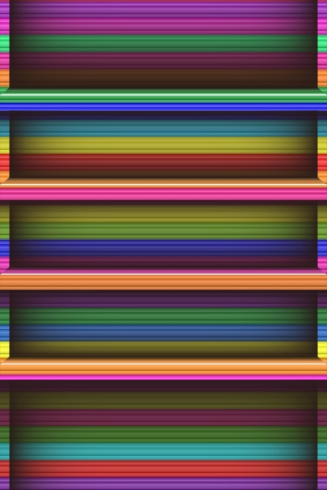 Bookshelf background SN19 iPhone wallpapers Background and Themes 640x960
